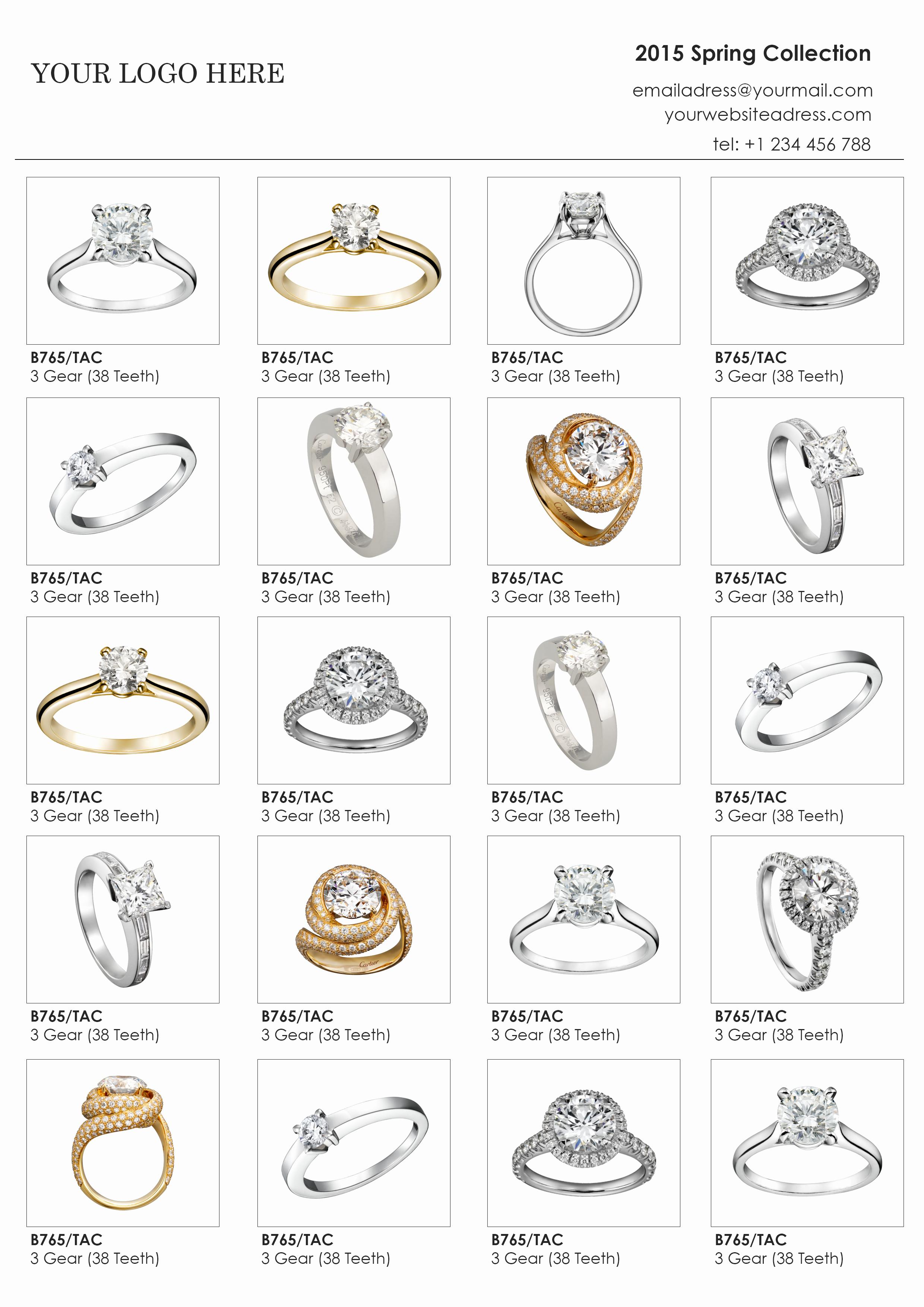 Product Line Card Template Luxury Custom Catalog Custom Line Sheet Line Sheet Design