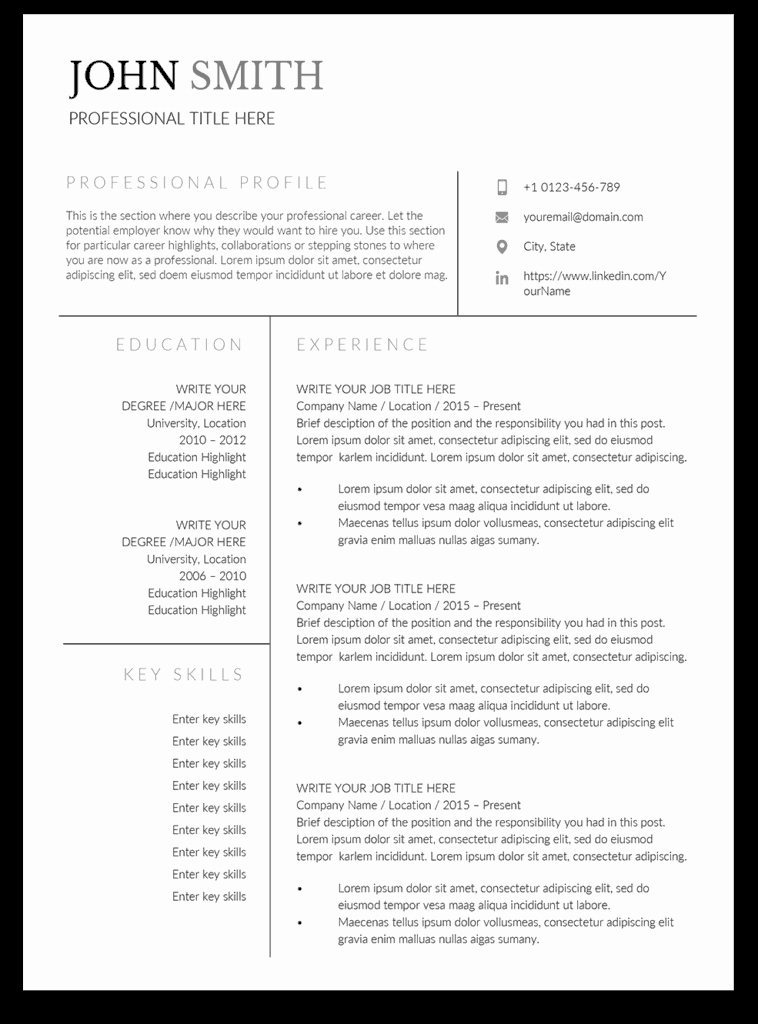 Product Manager Resume Template Elegant 8 Premium Product Manager Resume Templates Tips