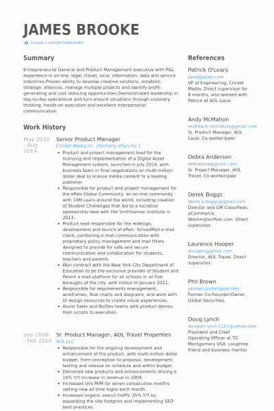 Product Manager Resume Template Lovely Product Manager Resume Sample