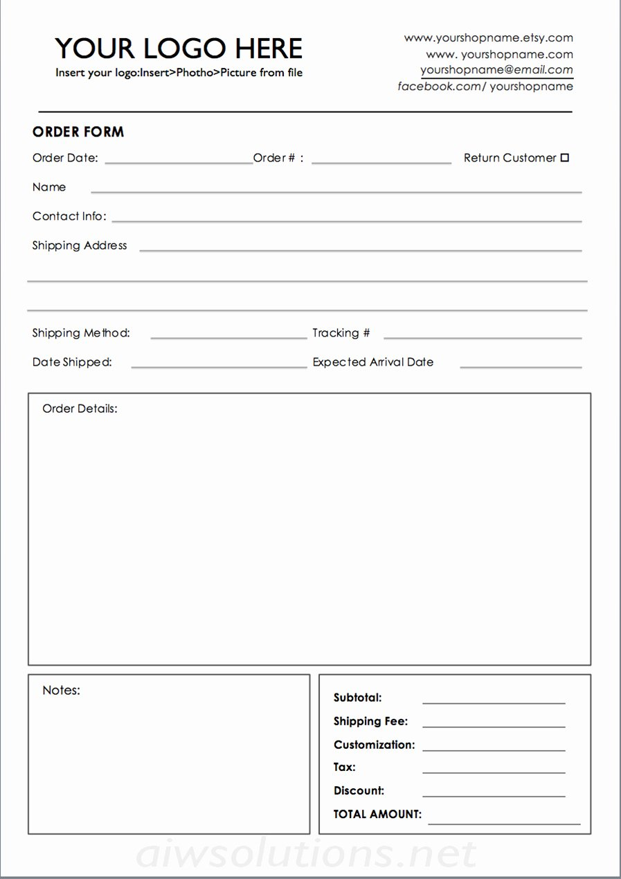 Product order form Template Best Of Custom Catalog Custom Line Sheet Line Sheet Design