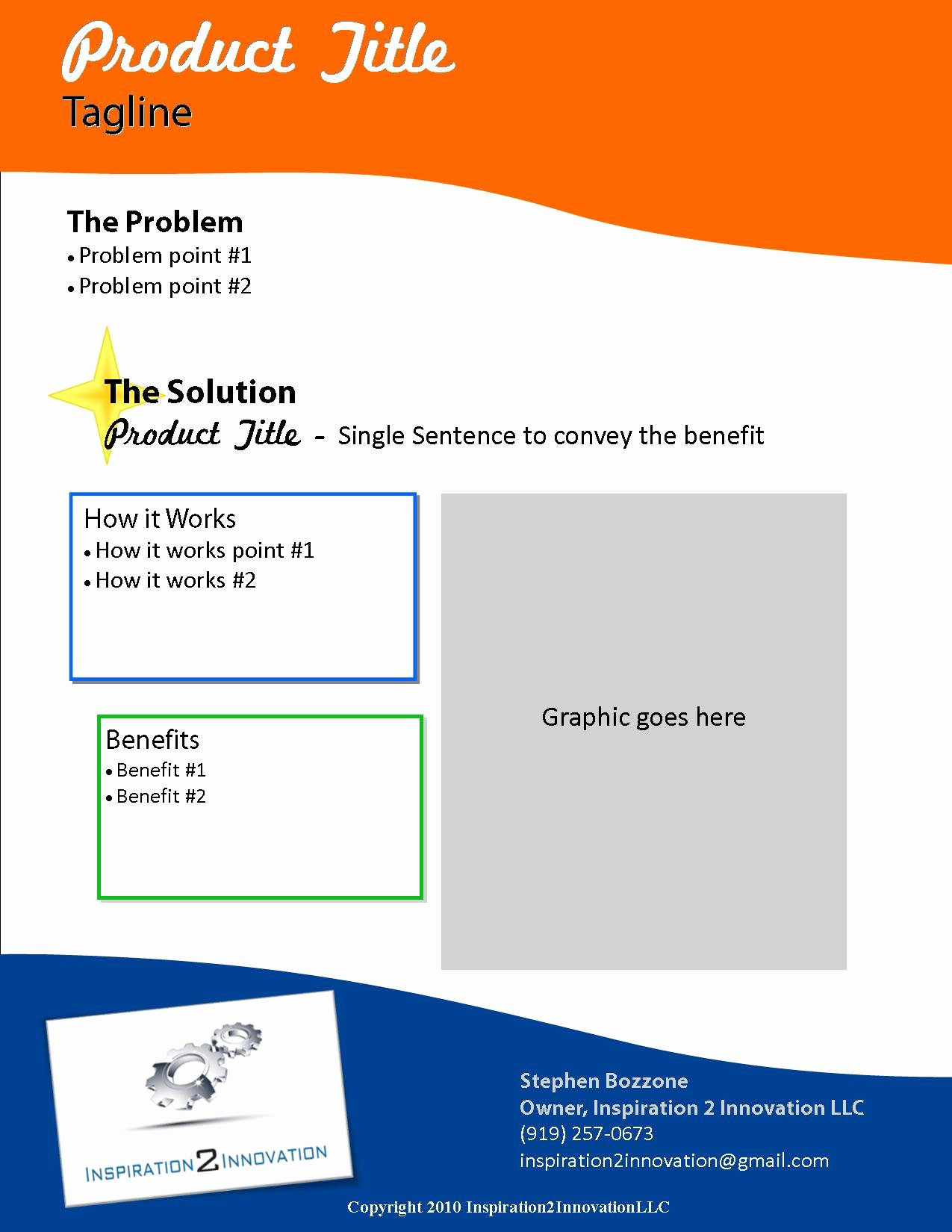 Product Sell Sheet Template Best Of 5 Best Of Cool Invention Ideas Really Cool
