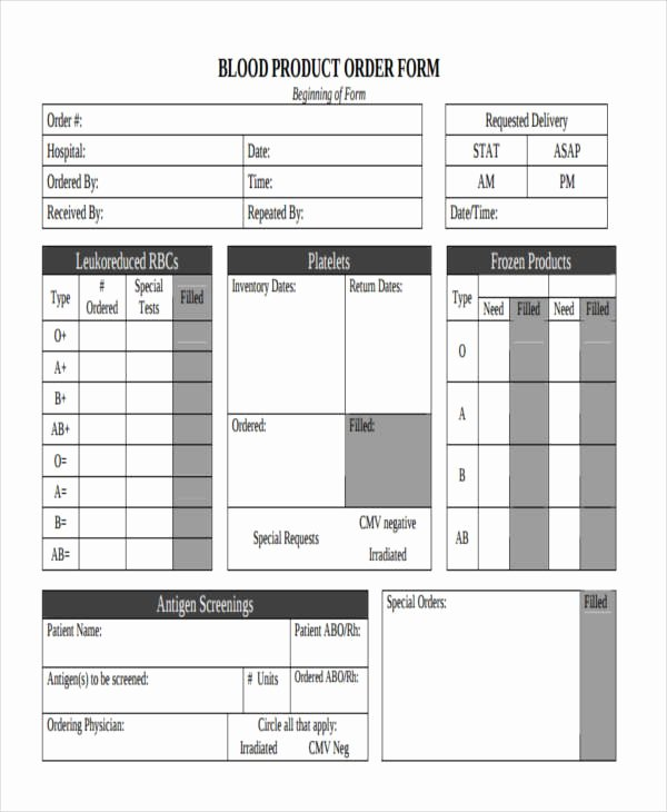 Products order form Template Unique 9 Product order forms Free Samples Examples format