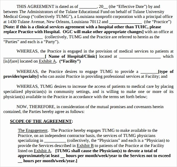 Professional Services Agreement Template Best Of Sample Professional Services Agreement 12 Free In Pdf Word