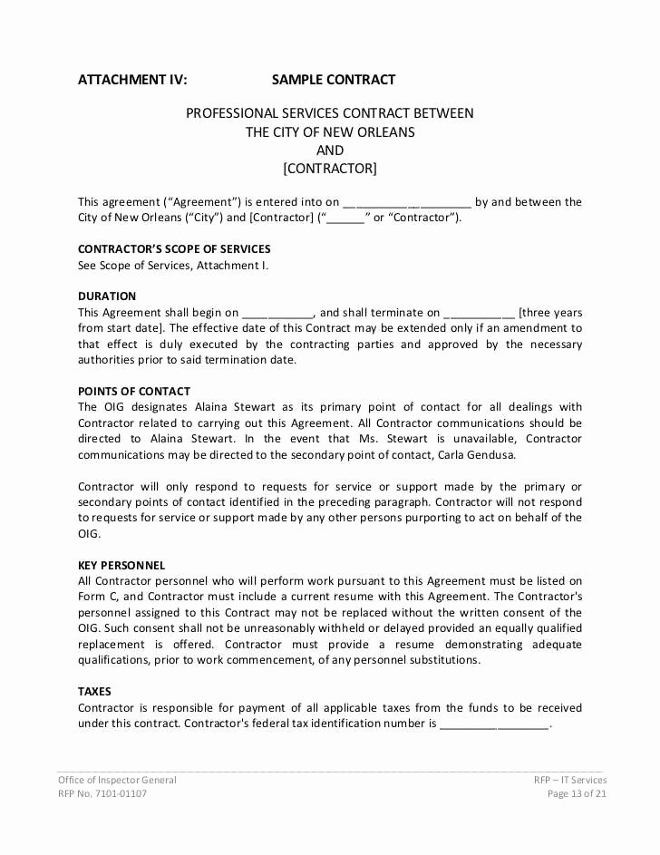 Professional Services Agreement Template Elegant Fantastic Professional Services Agreement Template Model