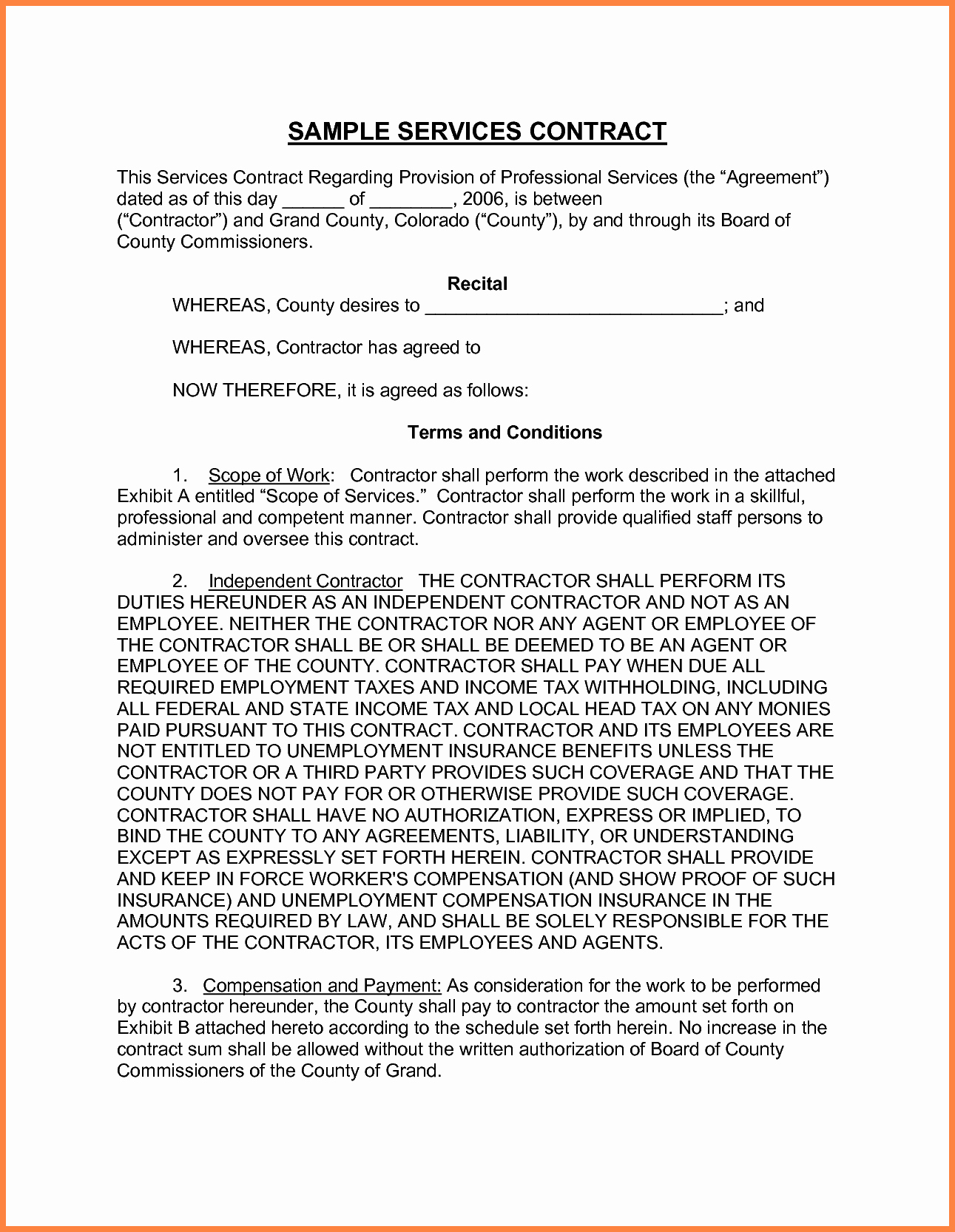 Professional Services Agreement Template Inspirational 9 Professional Service Agreement Template