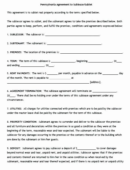 Profit Sharing Agreement Template Beautiful Template Profit Agreement Template