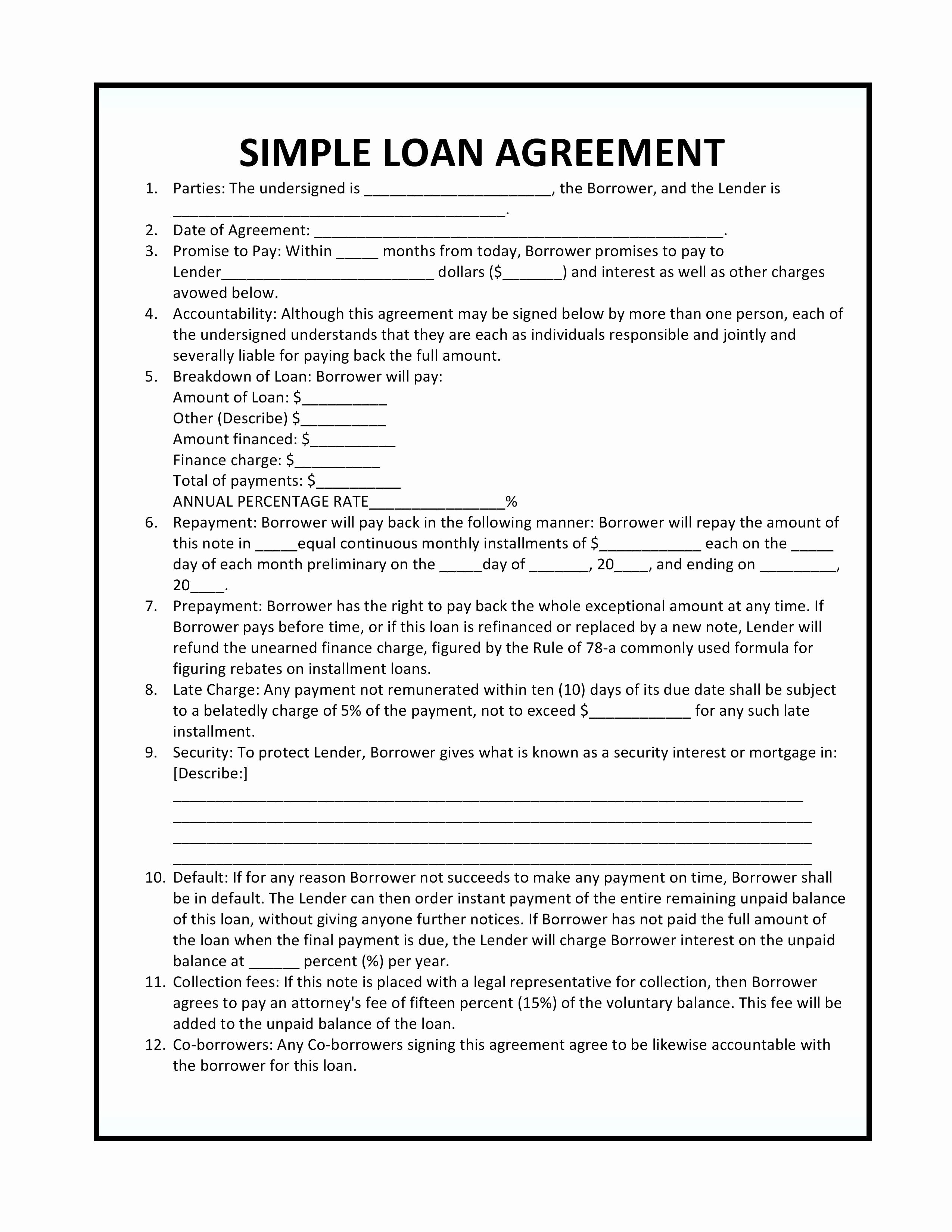 Profit Sharing Agreement Template Unique D Well Agreement form original Simple Profit Sharing