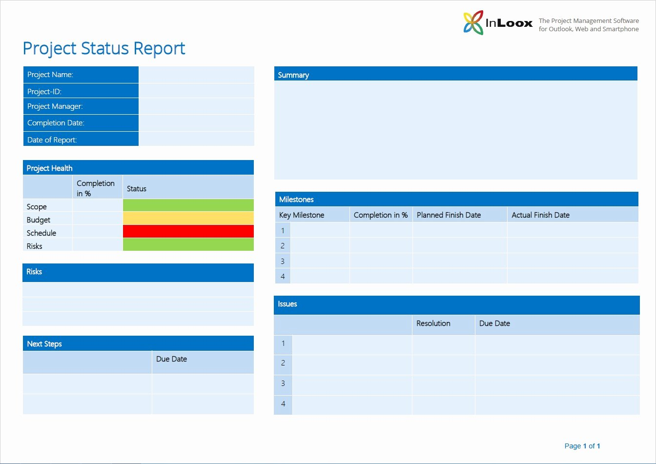 "Program Status Report Template Awesome ""what S the 411 "" the Importance Of Project Status"