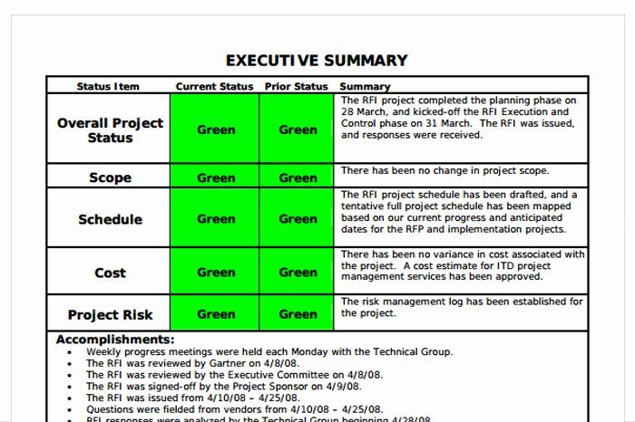 Program Status Report Template Luxury Status Report Template 27 Examples You Can Download Free
