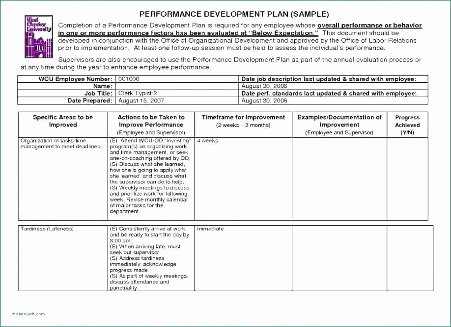 Progressive Discipline form Template Best Of Employee Discipline form 6 Free Word Documents Download