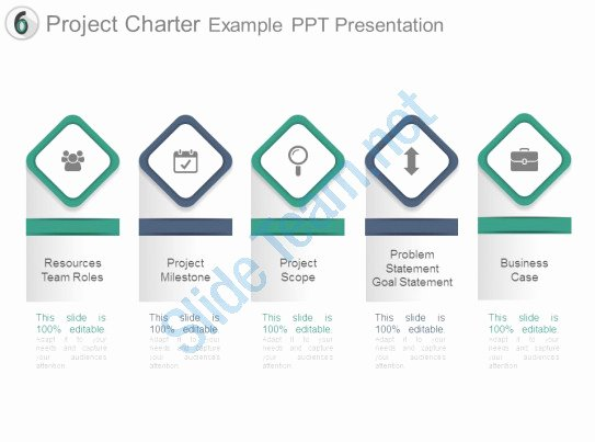 Project Charter Template Ppt Best Of Project Charter Example Ppt Presentation