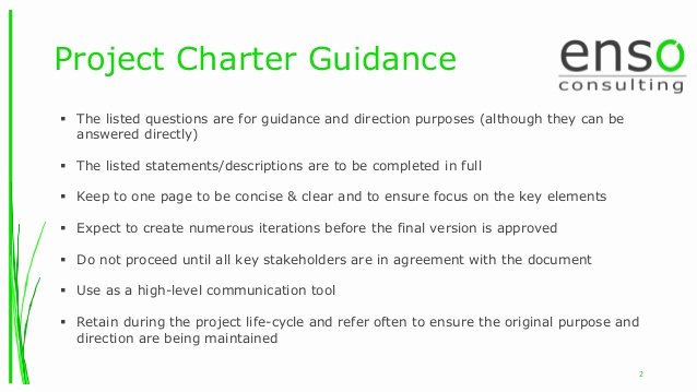 Project Charter Template Ppt New Lean Six Sigma Project Charter Template