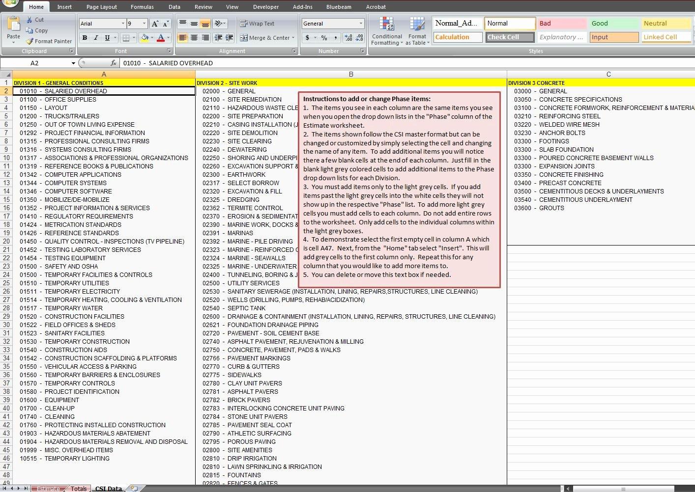 Project Cost Estimate Template Beautiful Project Cost Estimate Spreadsheet Estimate Spreadsheet