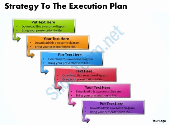 Project Execution Plan Template Beautiful Business Powerpoint Templates Strategy to the Execution
