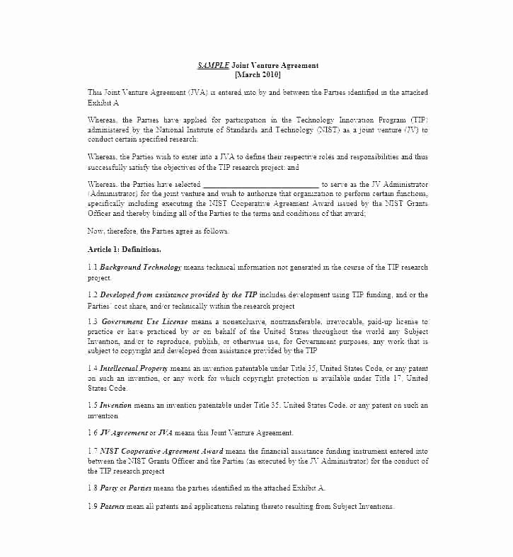 Project Management Contract Template Fresh Project Contract Template