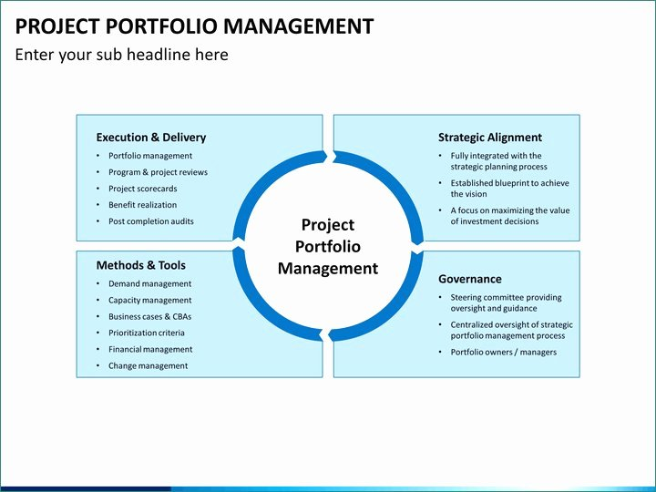 Project Management Powerpoint Template Luxury Best Powerpoint Templates Portfolio Free Authentic Project