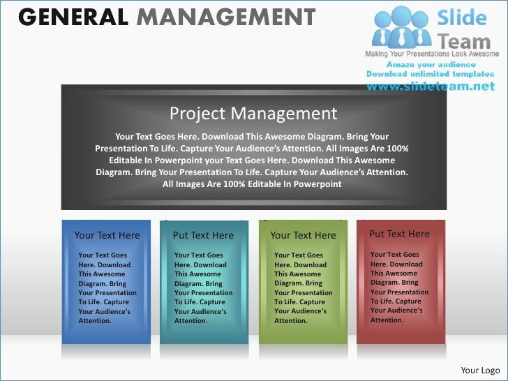 Project Management Powerpoint Template Unique Project Management Presentation Template – Harddancefo