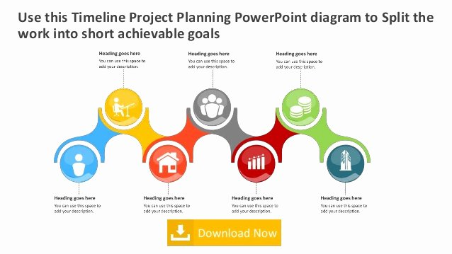 Project Plan Powerpoint Template Awesome Timeline Project Plan Editable Powerpoint [template]