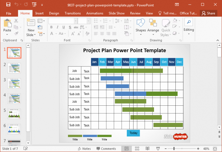 Project Plan Powerpoint Template Beautiful Powerpoint Template Project Plan Cpanjfo