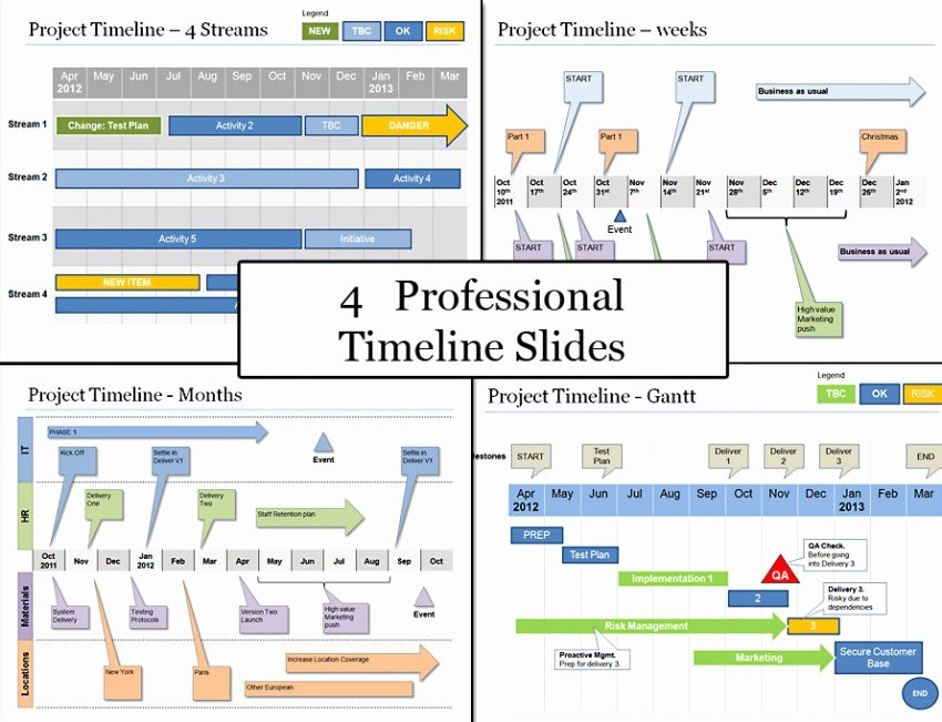Project Plan Powerpoint Template Elegant Powerpoint Project Timeline Planning Template