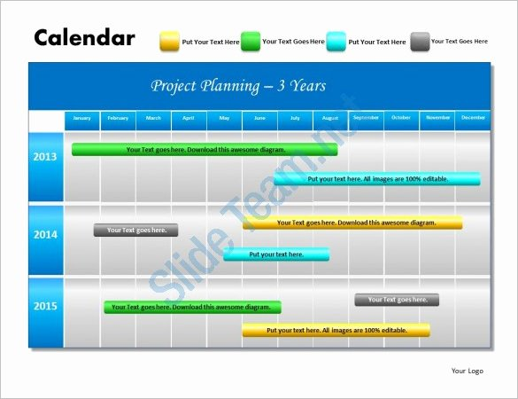 Project Plan Powerpoint Template Fresh Powerpoint Schedule Template – 8 Free Word Excel Ppt