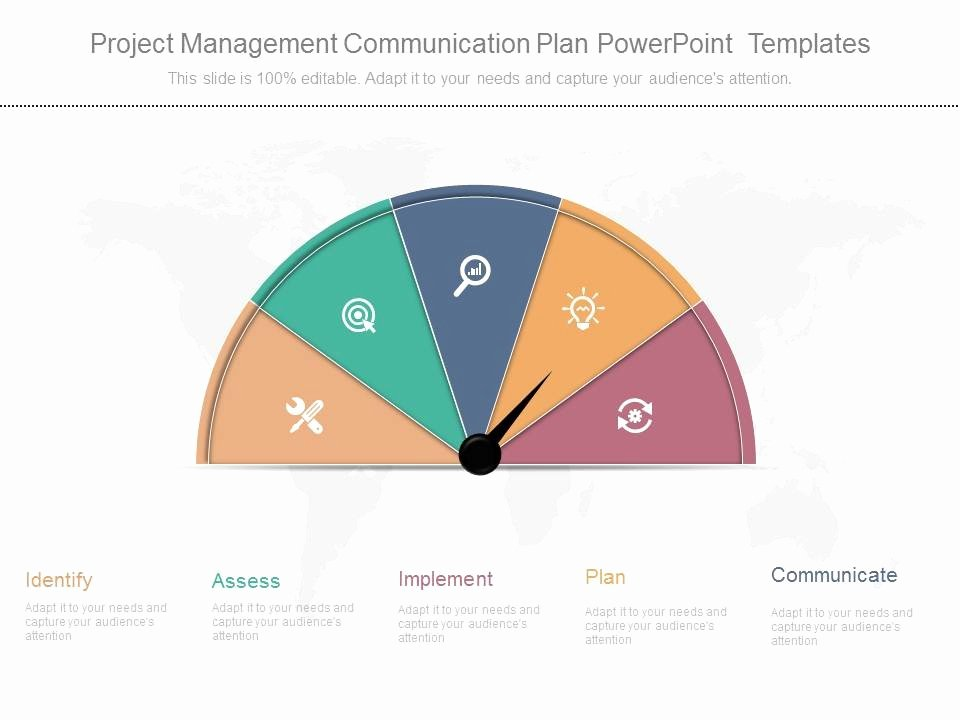 Project Plan Powerpoint Template Fresh Project Management Munication Plan Powerpoint Templates