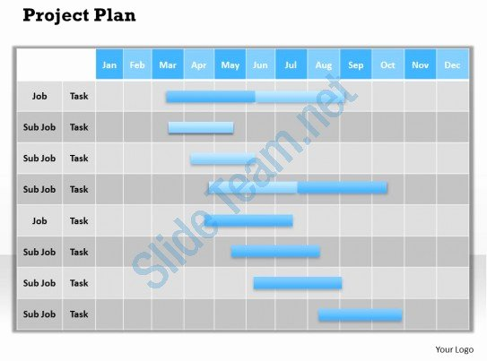 Project Plan Powerpoint Template Luxury Project Plan Powerpoint Template Slide
