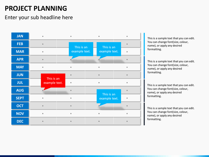 Project Plan Powerpoint Template New Project Planning Powerpoint Template