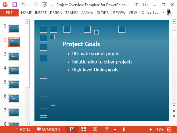 Project Plan Powerpoint Template Unique Free Project Plan Powerpoint Template