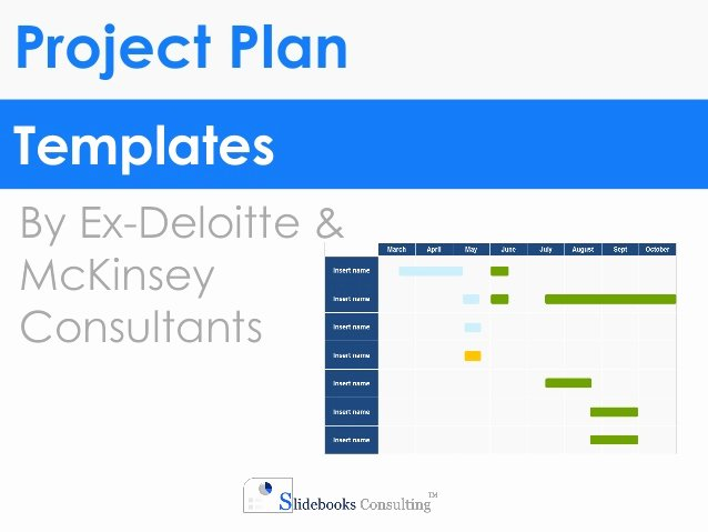 Project Plan Powerpoint Template Unique Project Plan Templates In Powerpoint & Excel