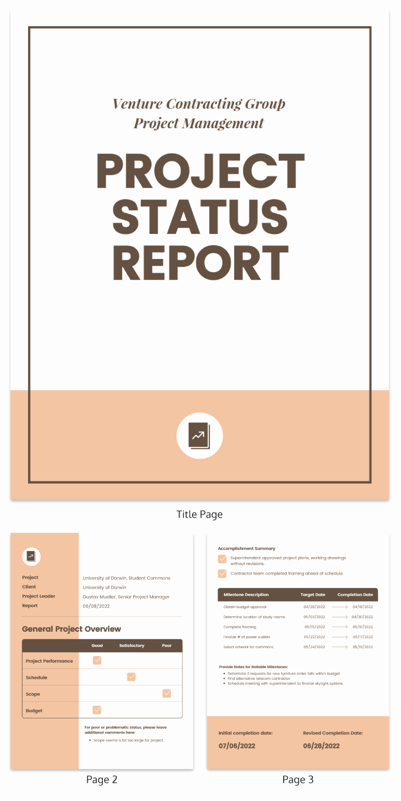 Project Progress Report Template Luxury 15 Project Plan Templates to Visualize Your Strategy