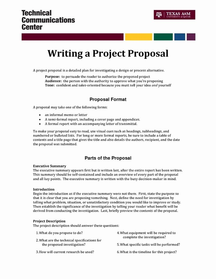 Project Proposal Template Doc Fresh top 5 Resources to Get Free Project Proposal Templates