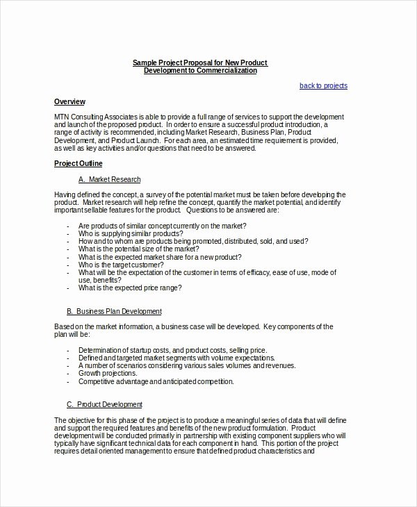 Project Proposal Template Doc Lovely Project Proposal Template 21 Free Word Pdf Psd