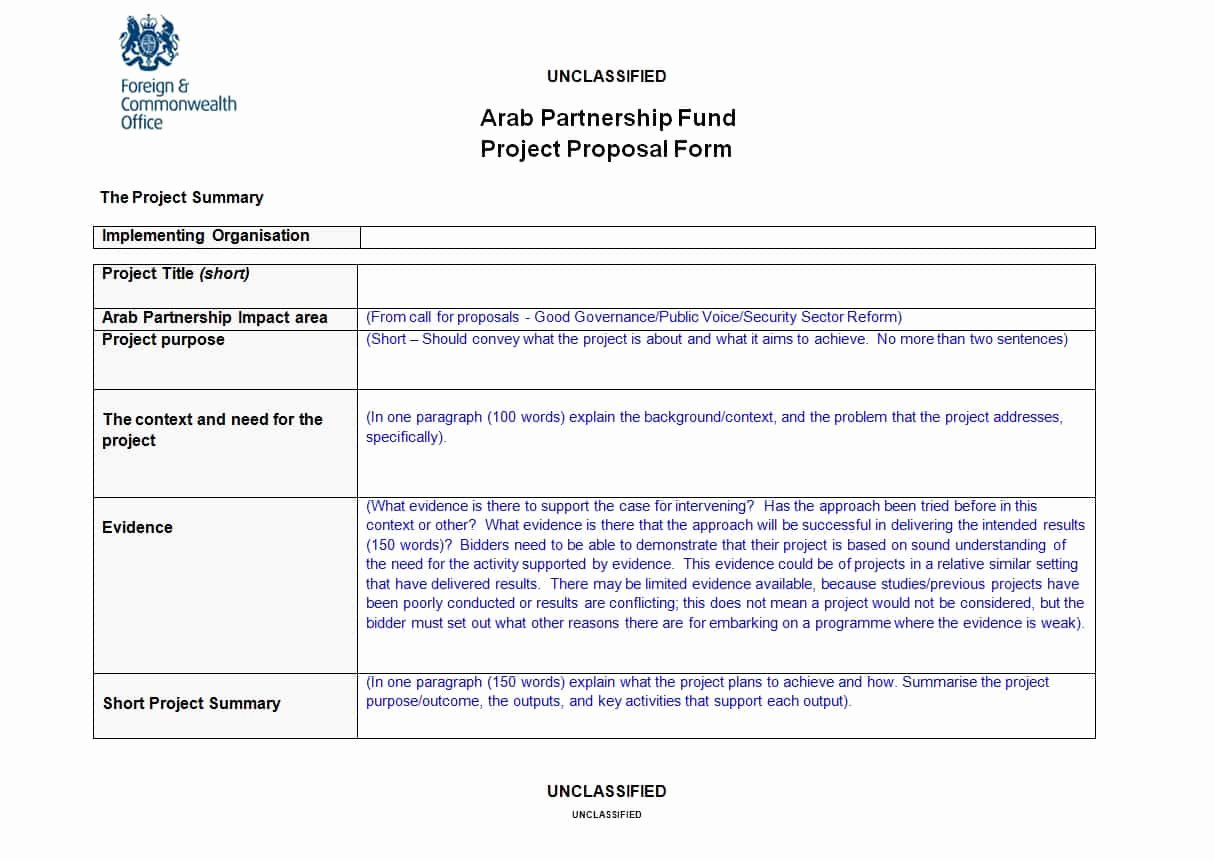Project Proposal Template Doc Luxury 43 Professional Project Proposal Templates Template Lab
