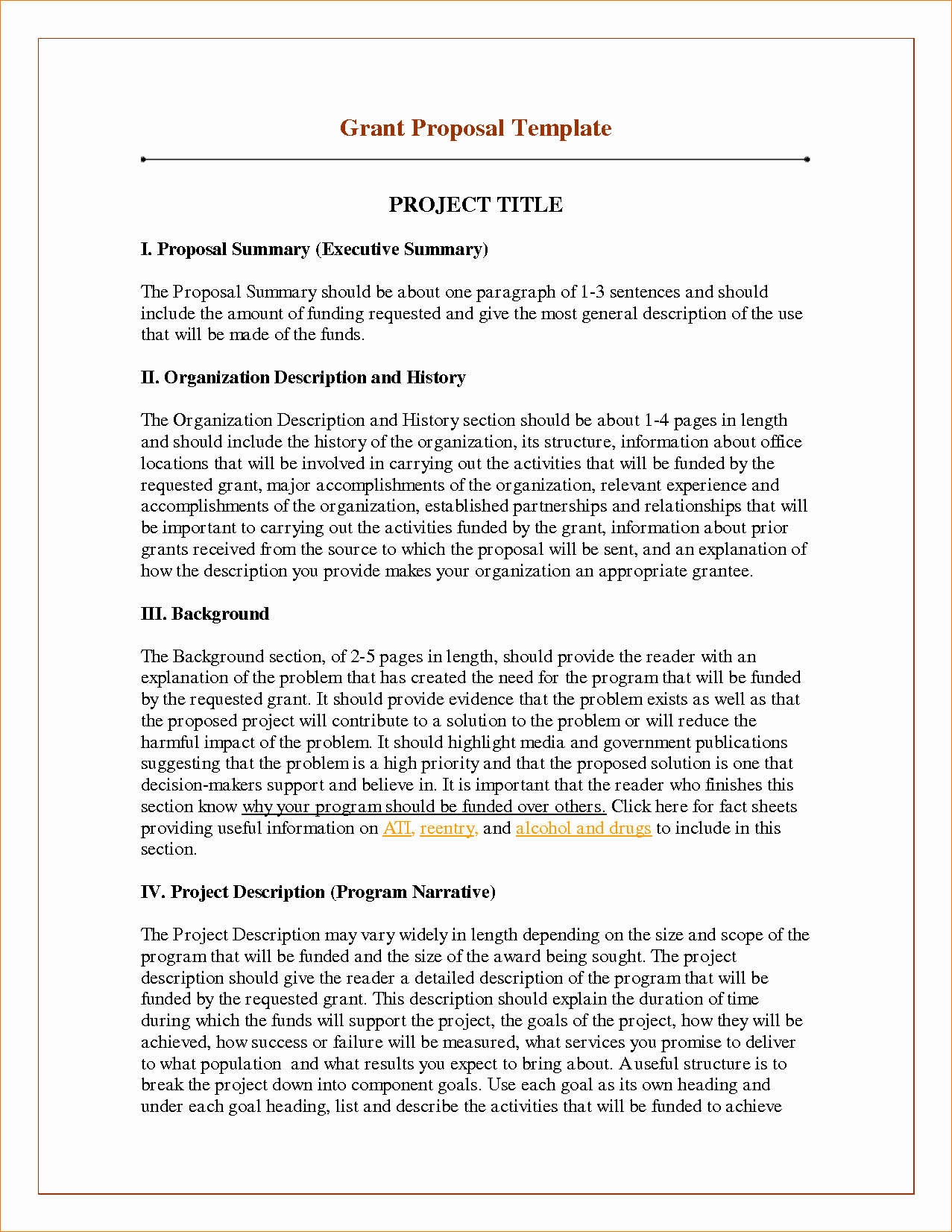 Project Proposal Template Doc Luxury Project Project Proposal Template