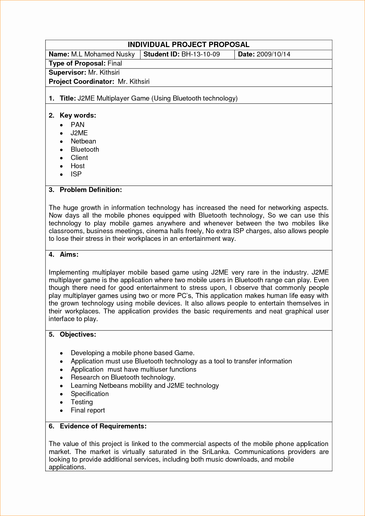 Project Proposal Template Doc Luxury Sample Project Proposal Template Business Proposal