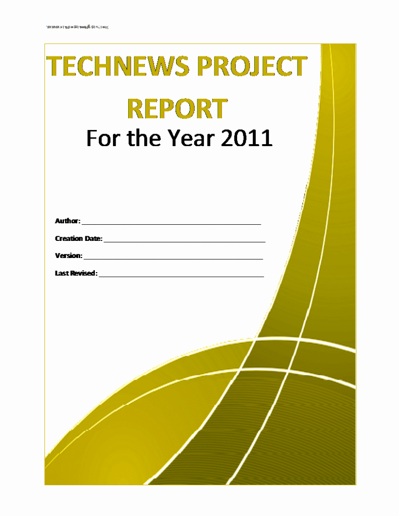 Project Report Template Word Lovely Project Report Template Free formats Excel Word