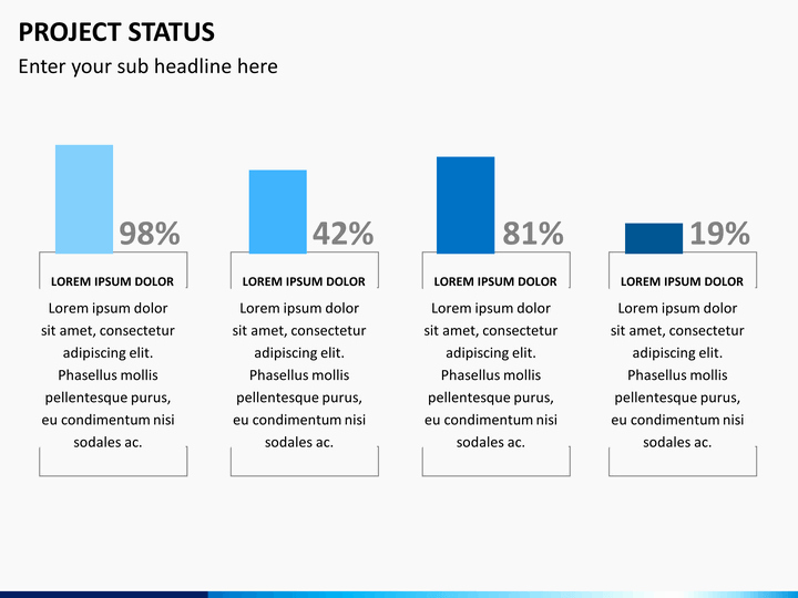 Project Status Powerpoint Template Lovely Project Status Powerpoint Template