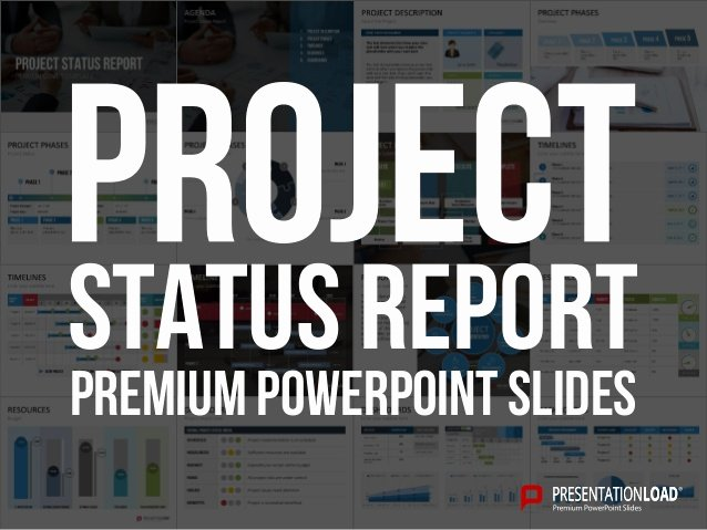 Project Status Powerpoint Template Luxury Project Status Report Ppt Slide Template