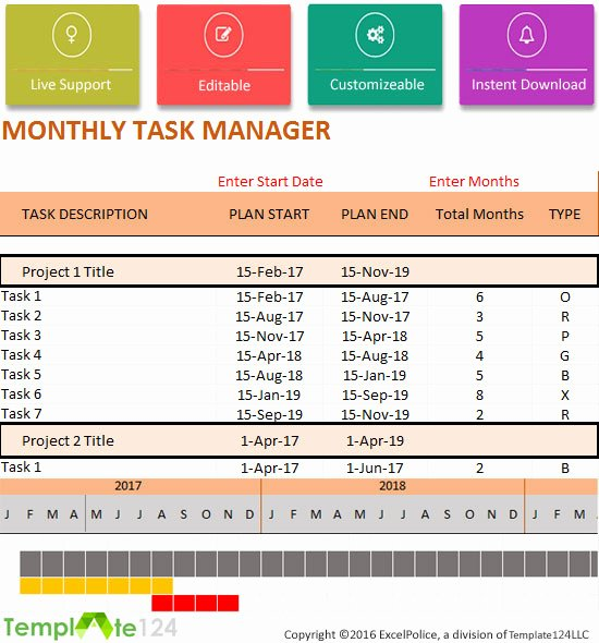 Project Task List Template Awesome Sales Excel Dashboard Spreadsheet Templates