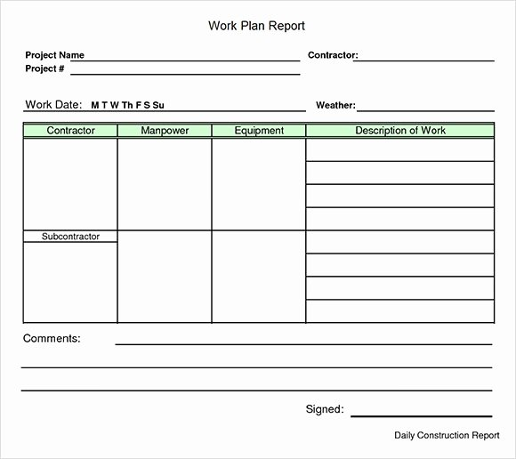 Project Work Plan Template Beautiful Work Plan Template 17 Download Free Documents for Word
