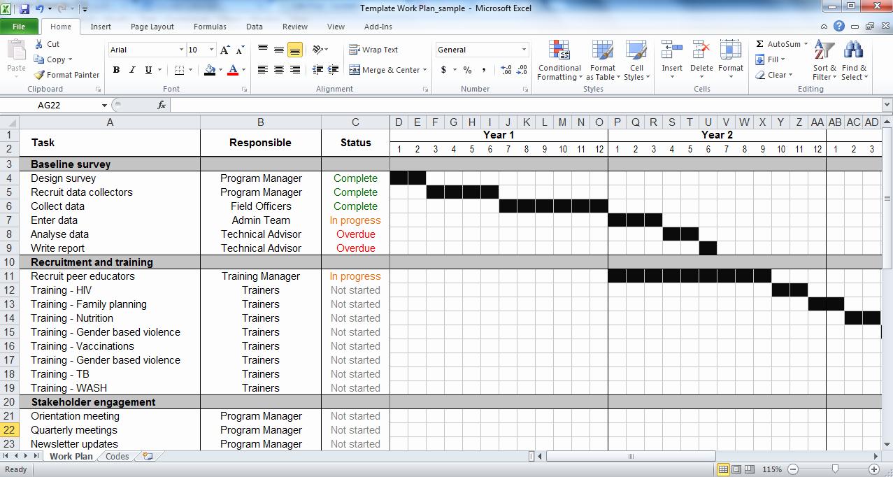 Project Work Plan Template Beautiful Work Plan Template