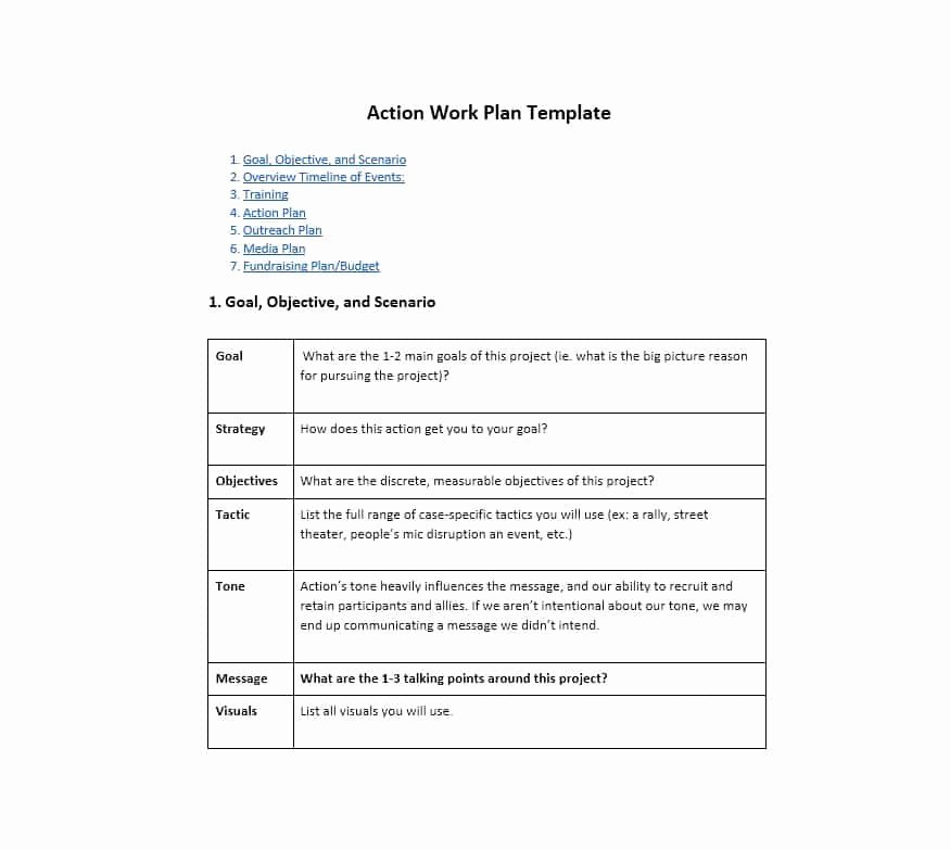 Project Work Plan Template Best Of Work Plan 40 Great Templates & Samples Excel Word