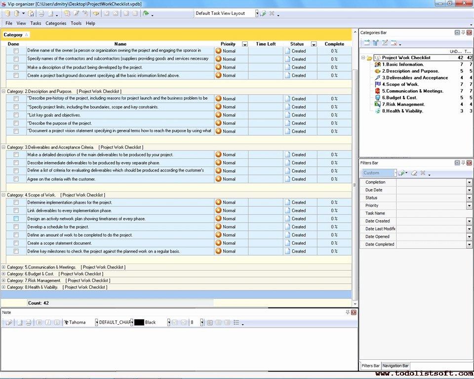 Project Work Plan Template Unique software Deliverables Checklist Pilgaa
