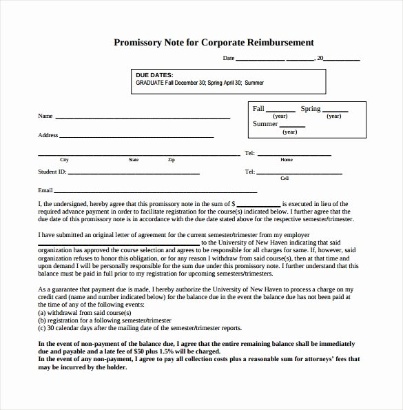 Promissory Note Template California New Promissory Note 26 Download Free Documents In Pdf Word