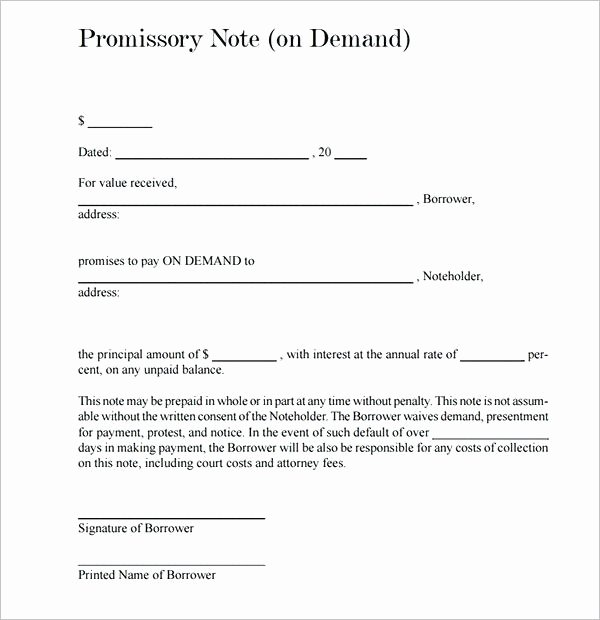Promissory Note Template Texas Luxury Note form Free the Truth About is to Be Revealed