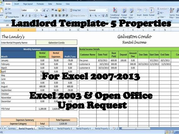 Property Management Checklist Template New Landlords Spreadsheet Template Rent and Expenses Spreadsheet