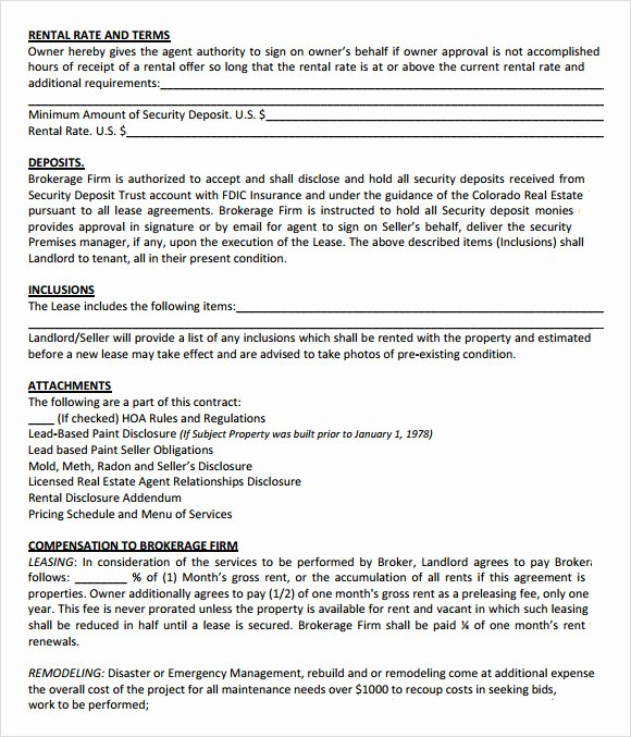 Property Management Contract Template Beautiful Property Management Agreement 10 Download Free