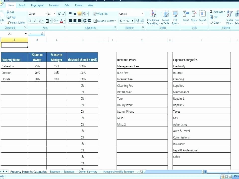 Property Management Excel Template Inspirational Property Management Excel Template Free – Ustam