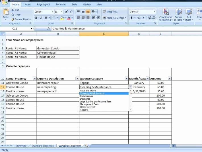 Property Management Excel Template Unique Crossfit Zone Diet Spreadsheet